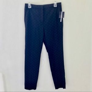 Zara Black Polka Dot Jogger Waist Pants